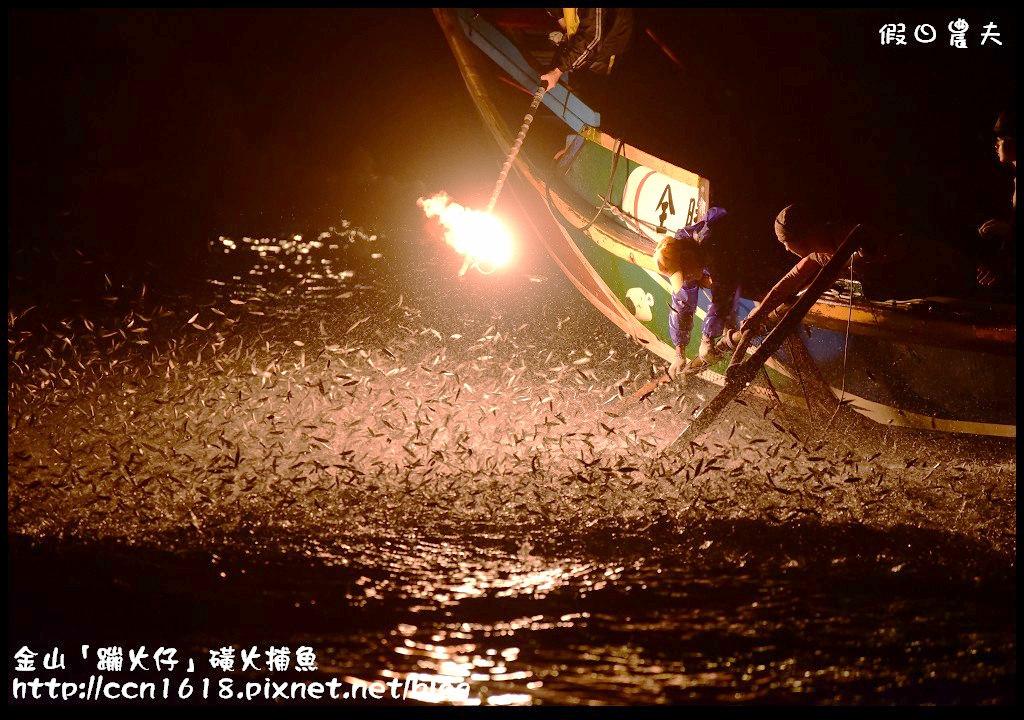 金山「蹦火仔」磺火捕魚DSC_0203
