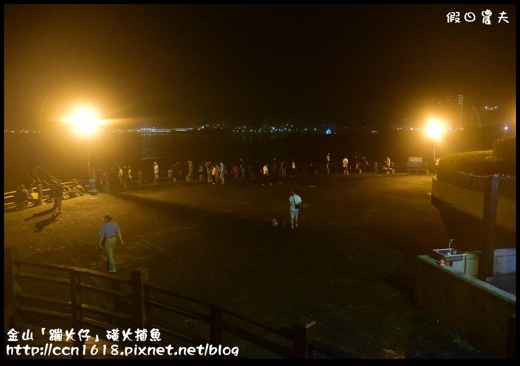 金山「蹦火仔」磺火捕魚DSC_0539