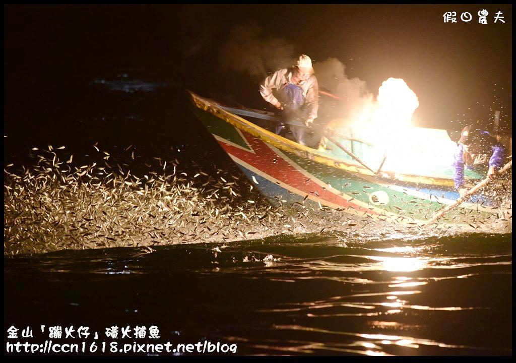 金山「蹦火仔」磺火捕魚DSC_0271