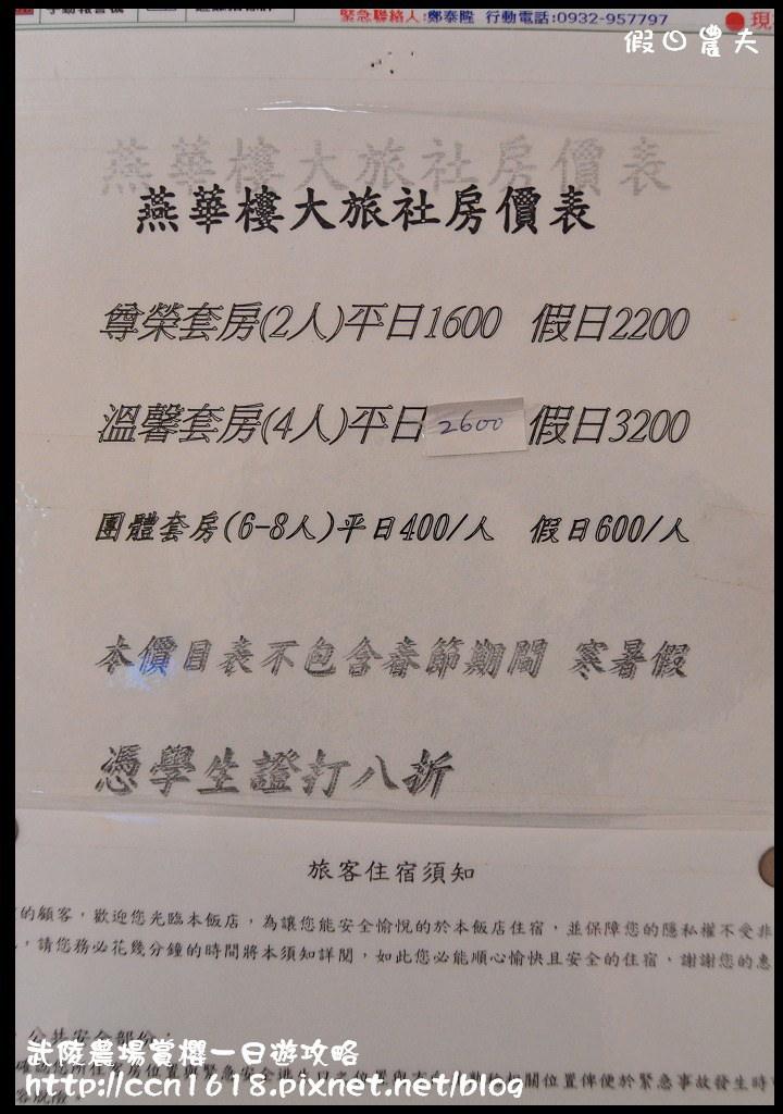 武陵農場賞櫻一日遊攻略DSC_5358