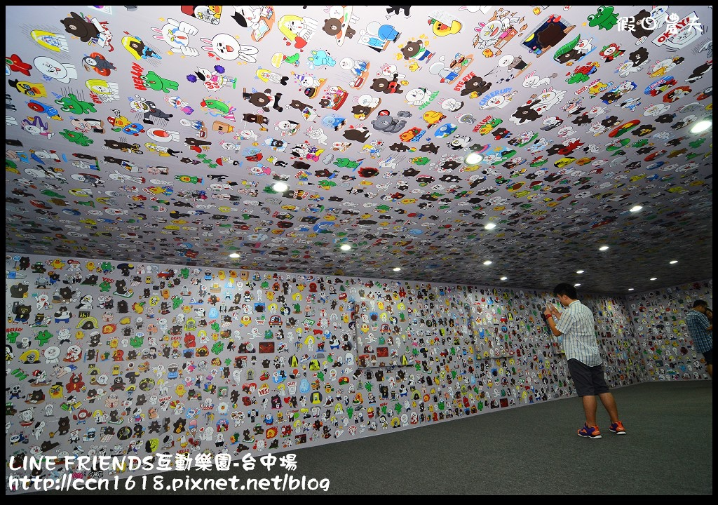 LINE FRIENDS互動樂園-台中場DSC_0384