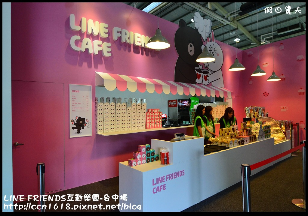 LINE FRIENDS互動樂園-台中場DSC_0280