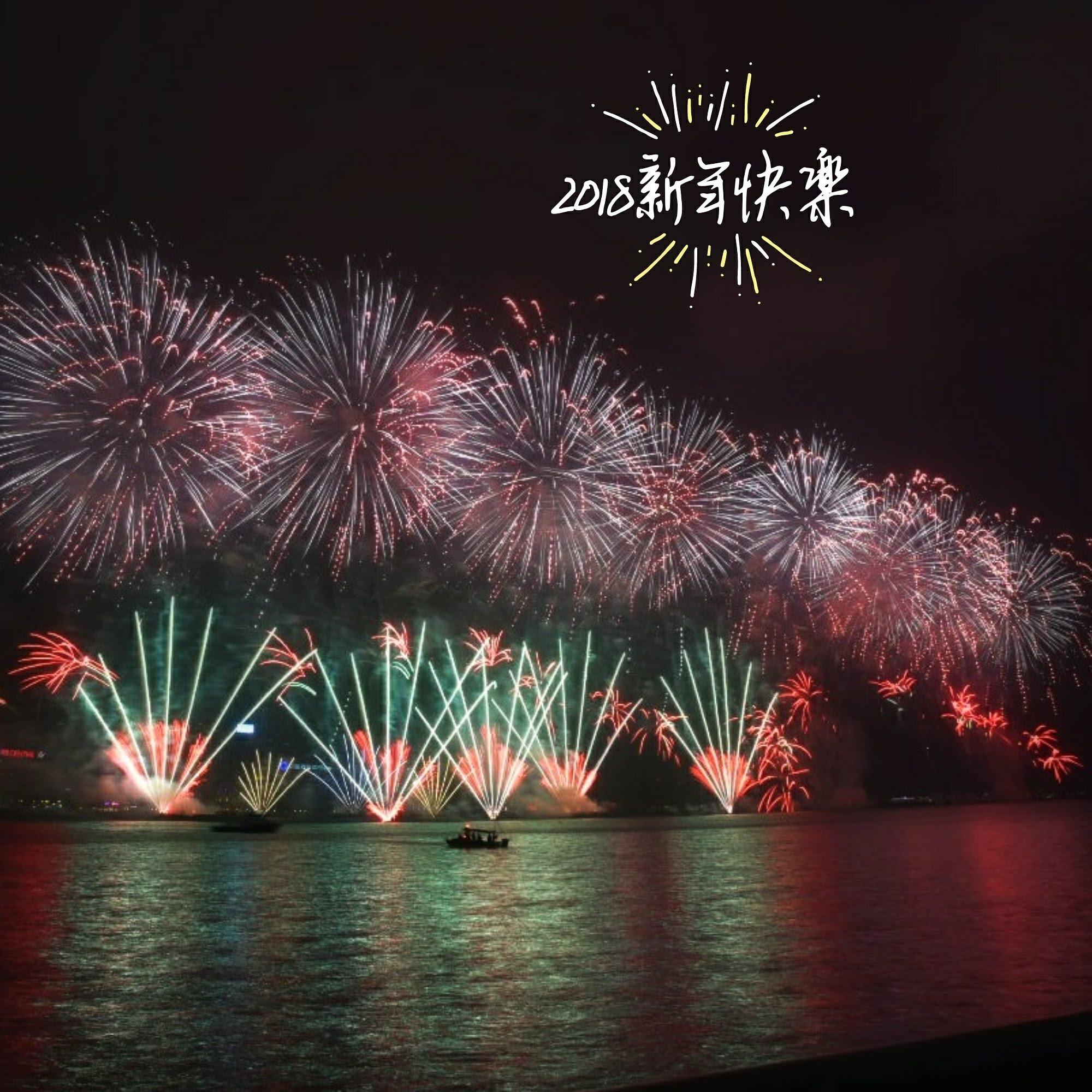 香港自由行|2018香港跨年煙火欣賞及拍攝煙火的私房景點推薦